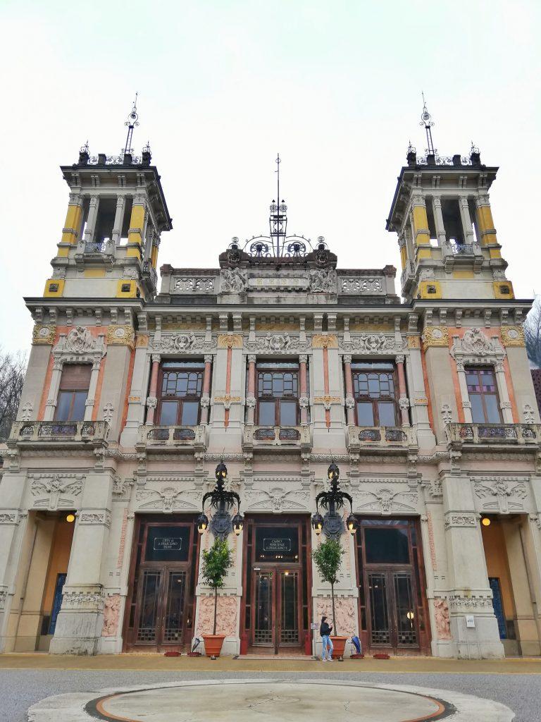 San Pellegrino-facciata terme