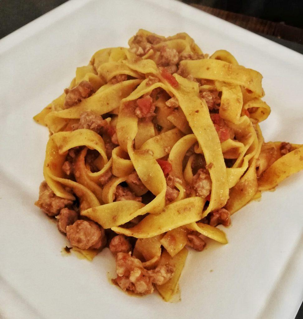 Piatti tipici bolognesi - Tagliatelle al ragù