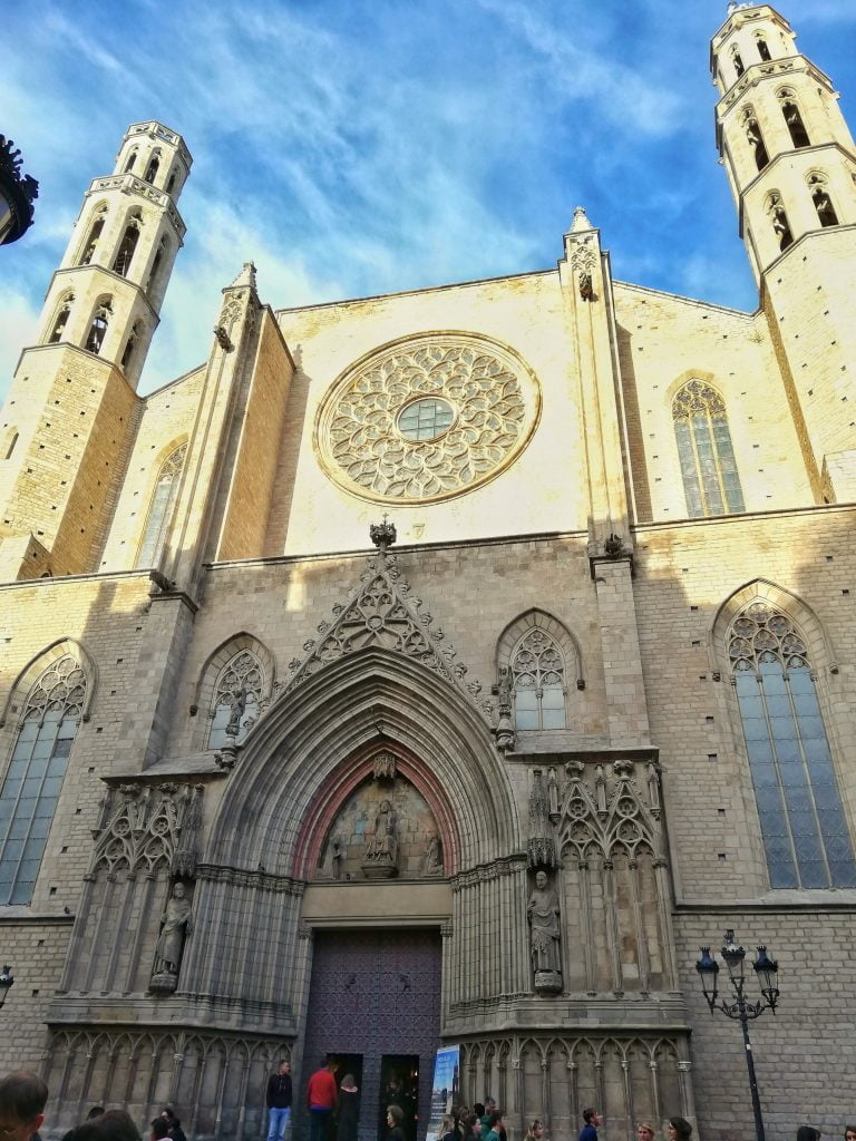 Barcellona-Santa Maria del mar