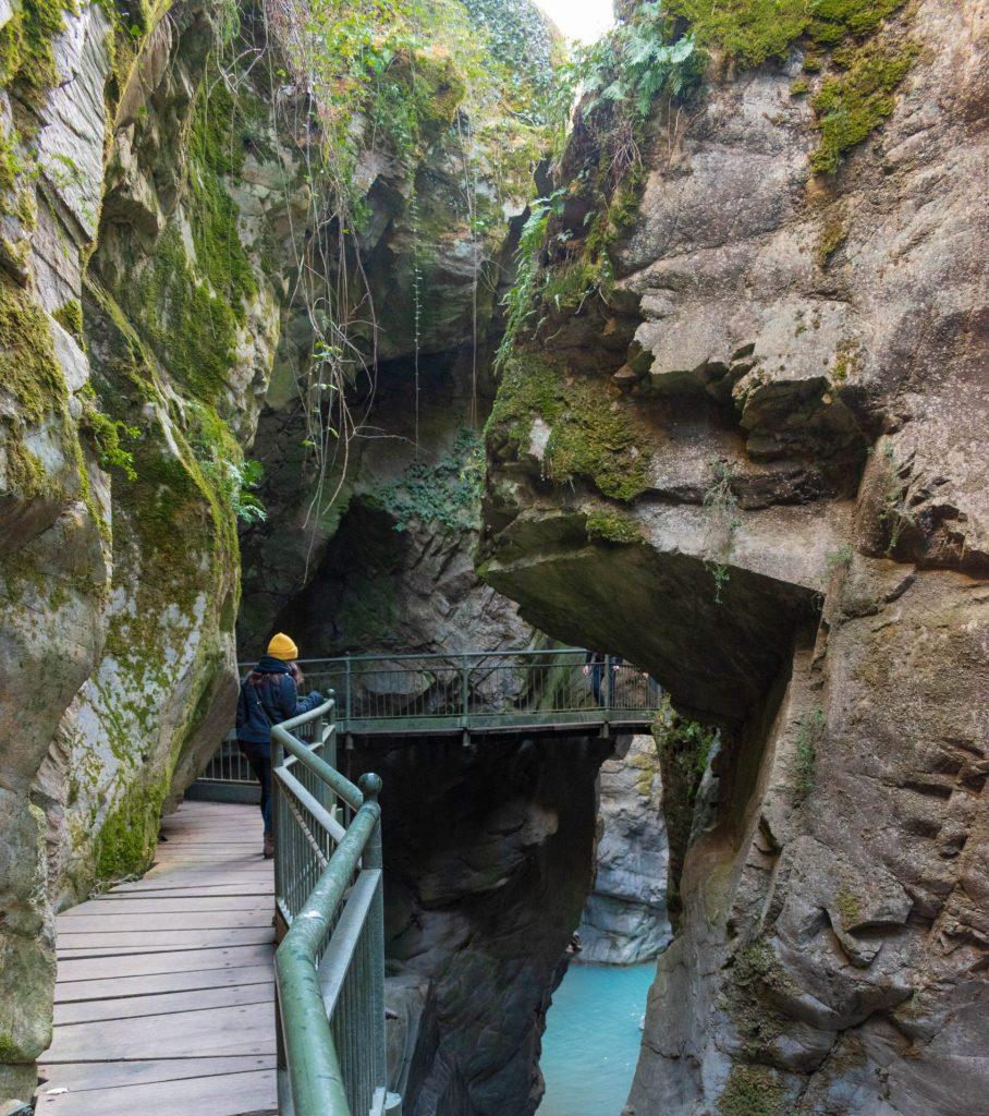 Alla scoperta dell'Orrido di Bellano- passerella