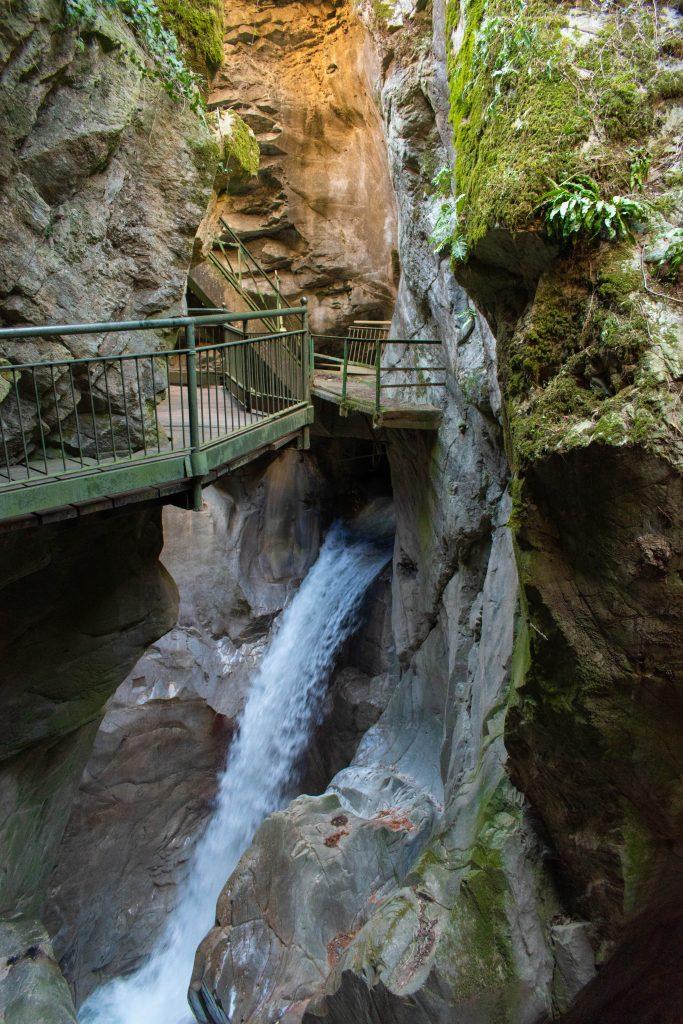 Orrido di Bellano - Cascata