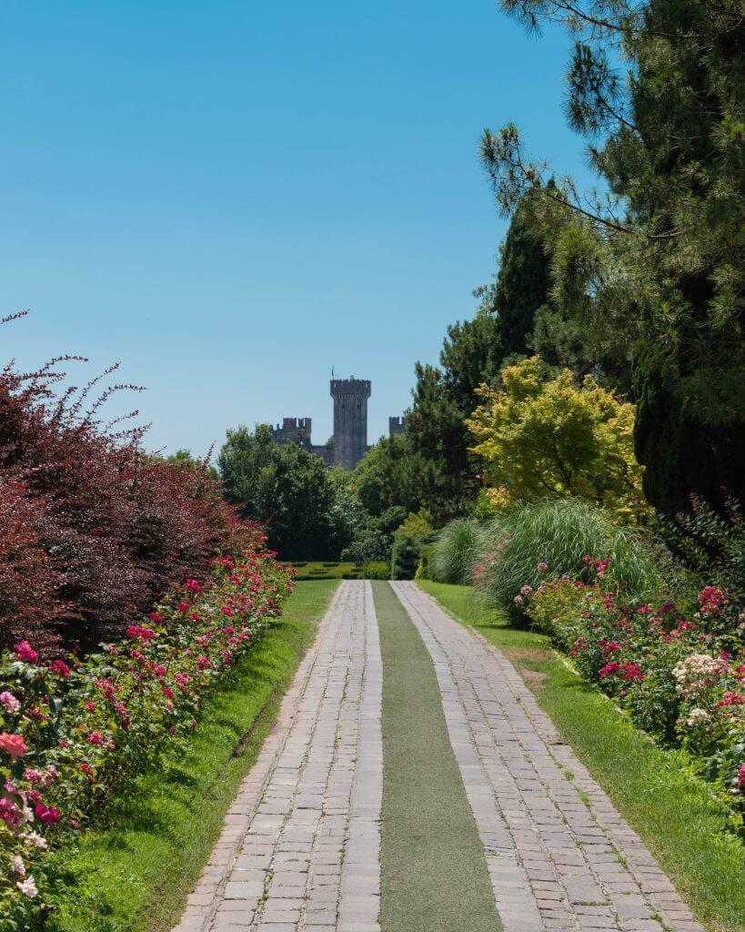 Parco Sigurtà - viale delle rose