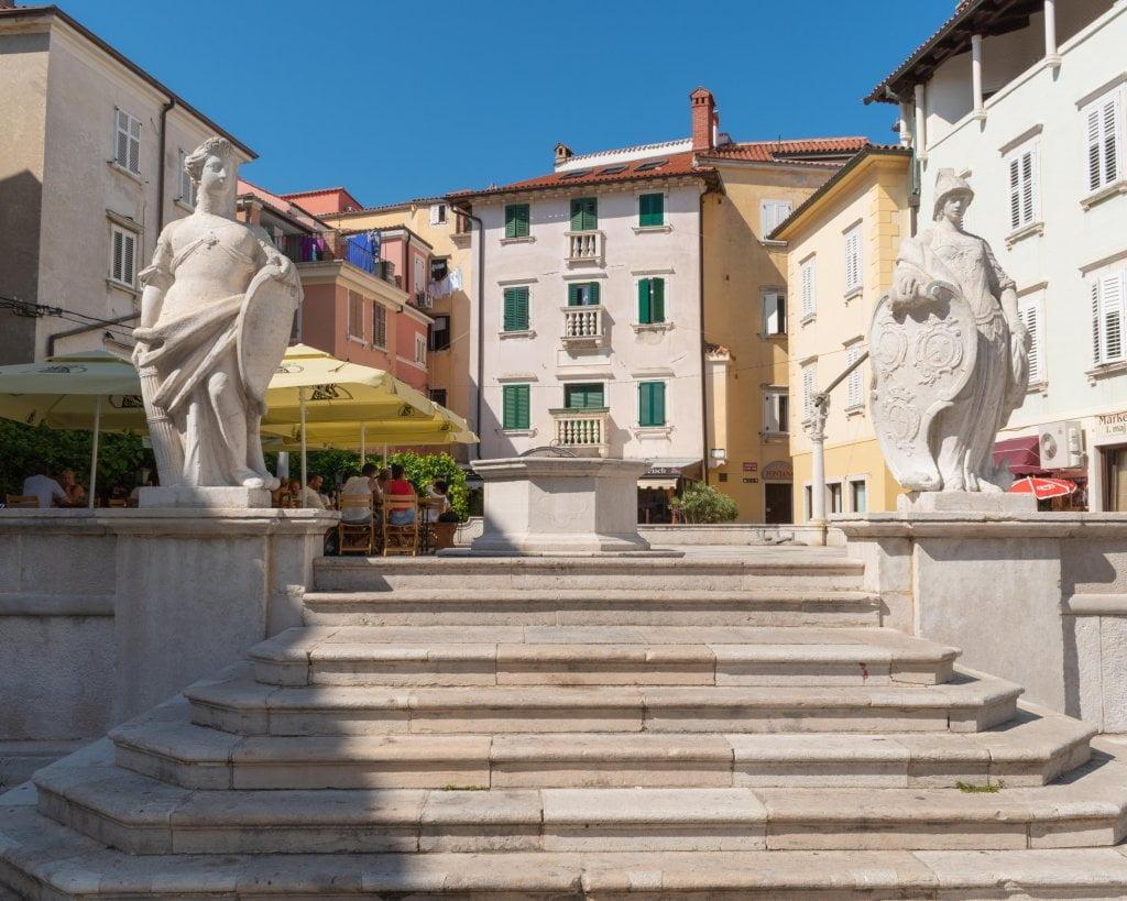 Pirano - Piazza Primo Maggio